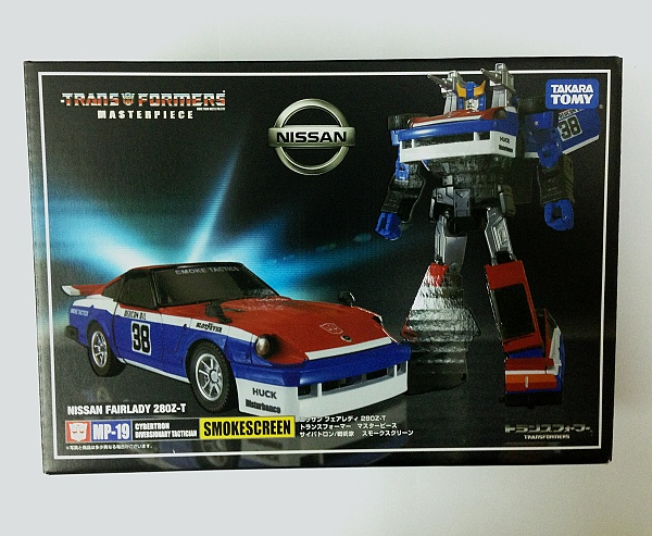 Takara Masterpiece MP-19 Smokescreen (No Coin or Gift)