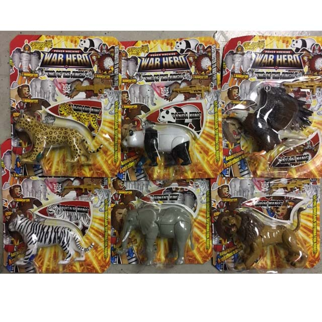 King Of The Jungle set of 6