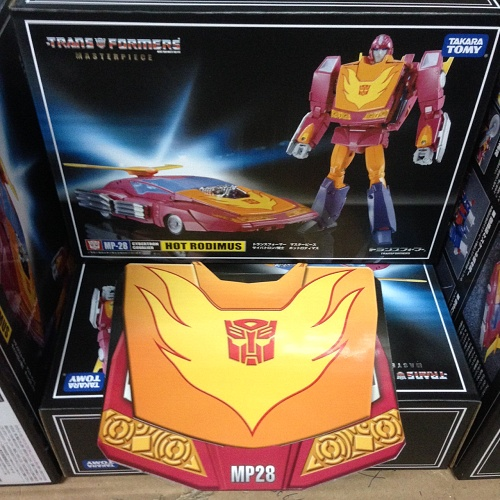 Takaratomy MP-28 Masterpiece Hot Rod with Coin