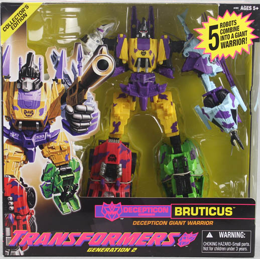 Transformers FALL OF CYBERTRON Generation 2 Decepticon Bruticus