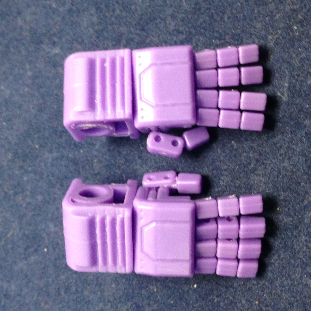 KFC- KP-14SW posable hands for MP-11SW (Purple