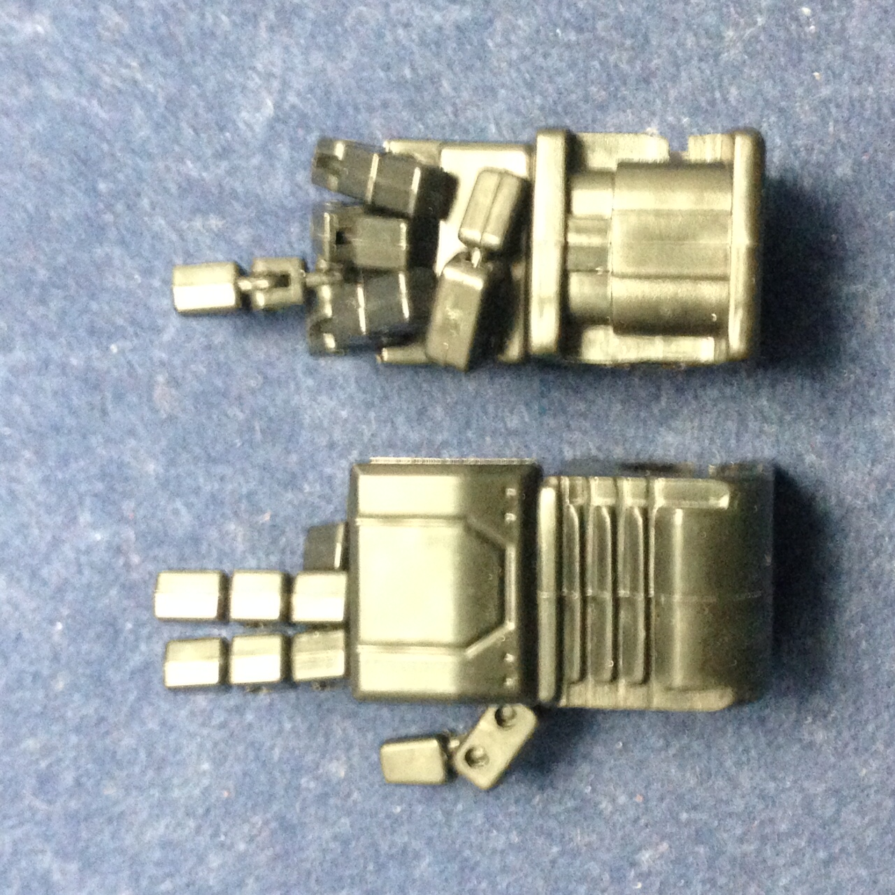 KFC- KP-14G posable hands for MP-11A (Metal Black) for Acidstorm