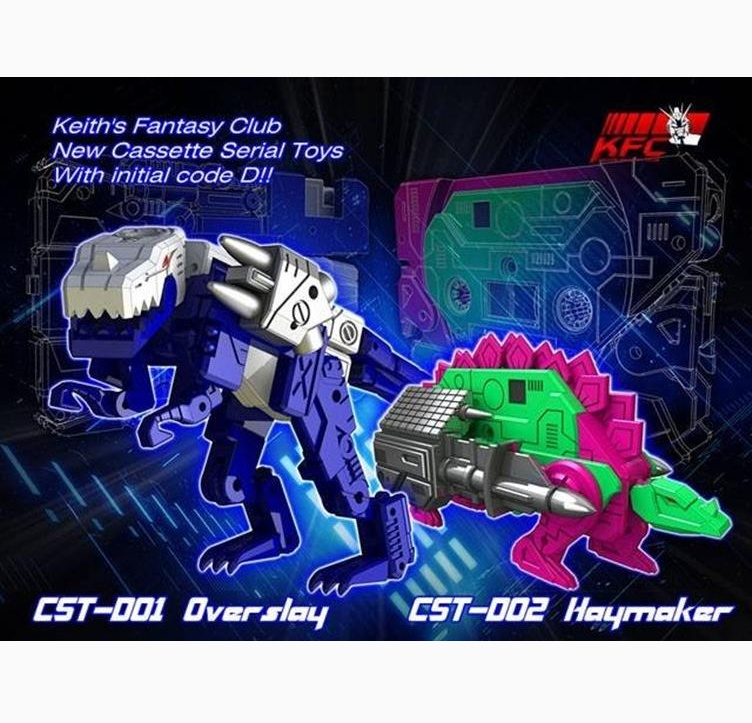 KFC CST-D01 & CST-D02 Set of Overslay & Haymaker