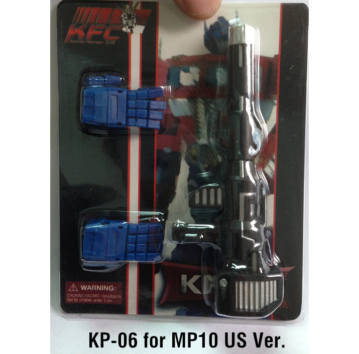 KFC-KP-06 Articulated Hands and Rifle (HASBRO)