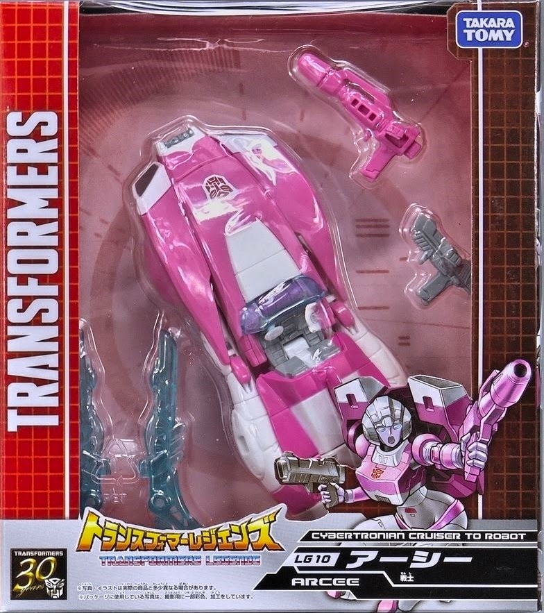Takaratomy  Generations LG-10  Acree