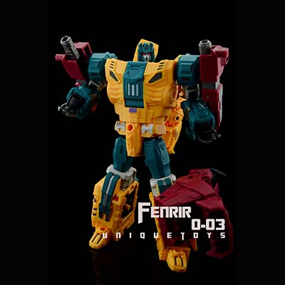 Unique Toys - Ordin -03 Fenrir