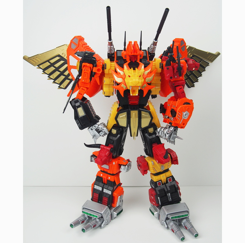 Unique Toys Predaking Full Set no box packing