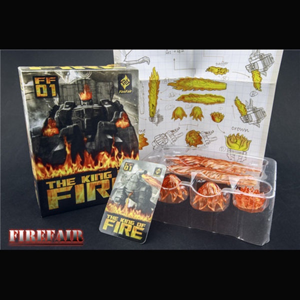 FIREFAIR FF-01 - MP-08 Grimlock Add On Kit