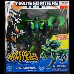 Transformers Prime Beast Hunters Voyager Grimwing