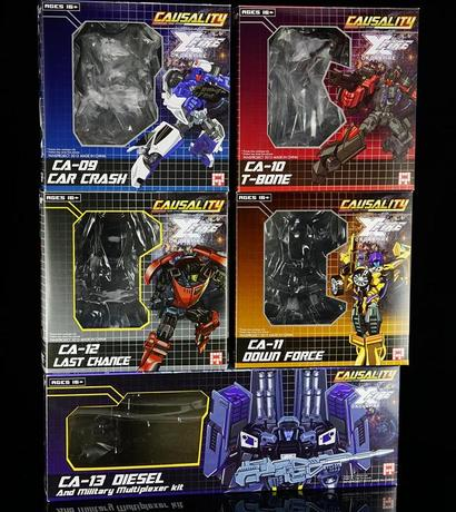 Fansproject Causality CA-09+10+11+12+13 Full set
