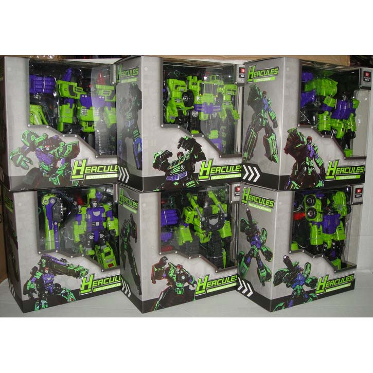 Xmas Specials TFC- Hercules - Full Set( NEW BOXART)