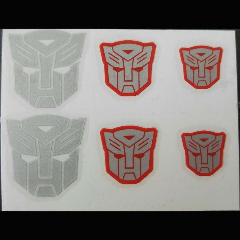 Transformers Logo Sticker Autobot  6 Pcs Set