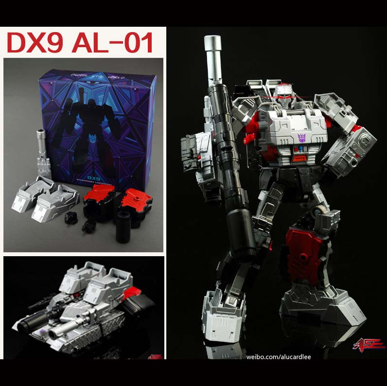 DX9 AL-01 IDW MEGATRON  Upgrade kit
