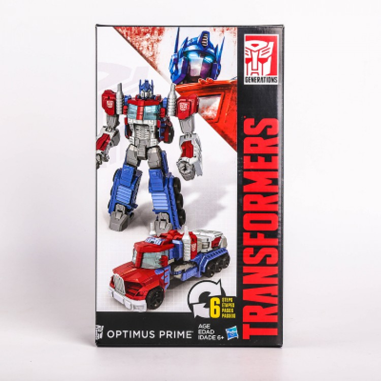 Transformers Generations Leader  Optimus Prime (6 Steps Movie Ve