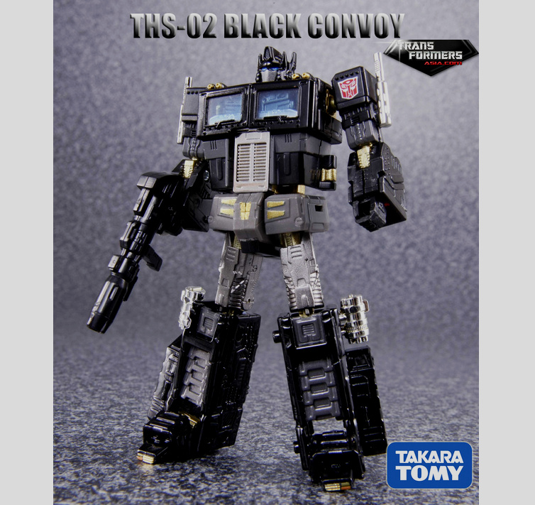 THS-02B Hybrid Optimus Prime  Asia Exclusive  Black Version