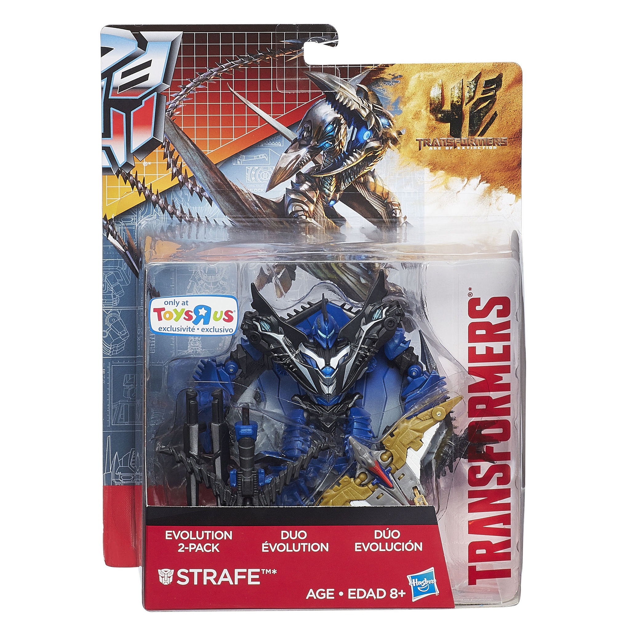 Hasbro TRANSFORMERS 4 STRAFE ToysRus Exclusives
