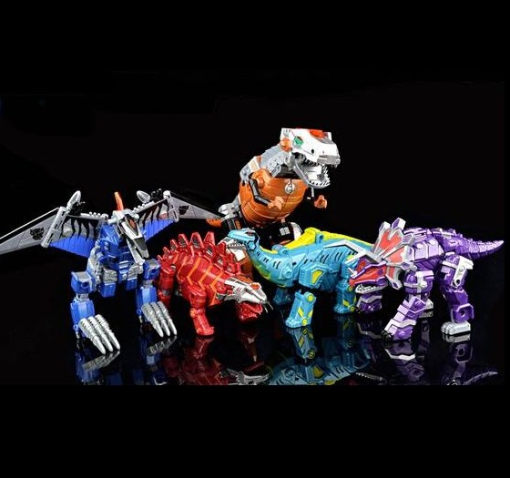 Dinosaur Robo Set of 5 (AOE Color Ver)