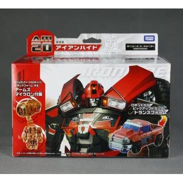 Takara Transformers Prime Arms Micron AM-20 Ironhide