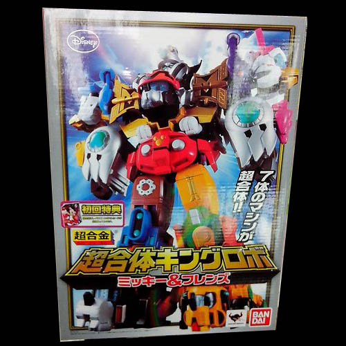 Bandai Disney Chogokin KING ROBO ROBOT MICKEY & FRIENDS