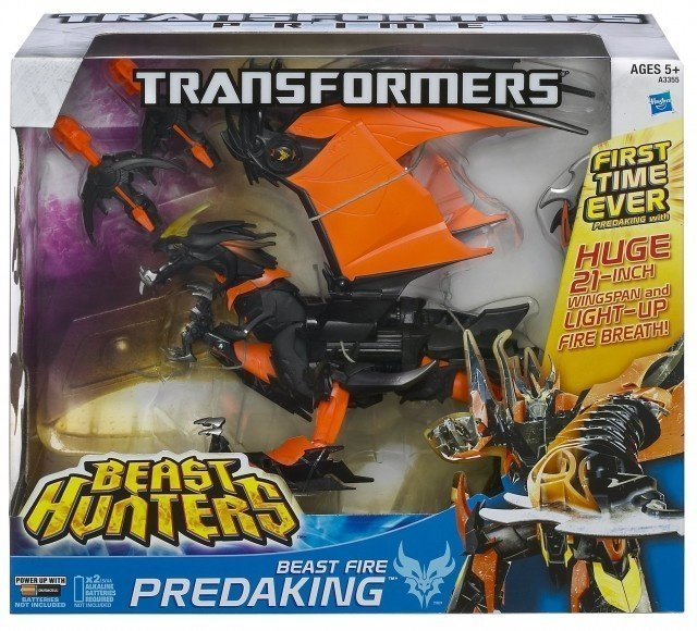 Transformers Beast Fire Hunters Utimate Leader Predaking