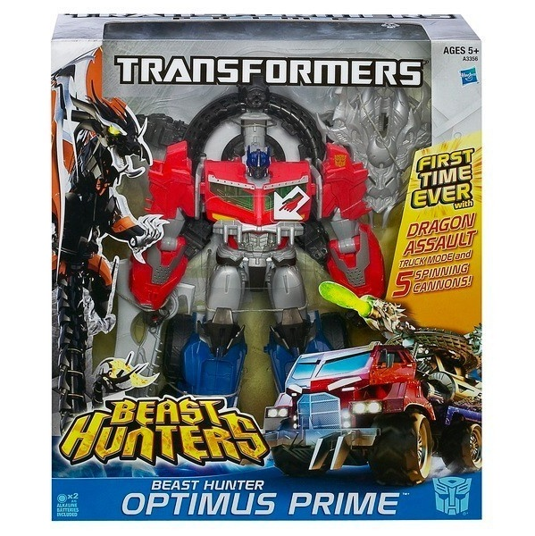 Transformers Ultimate Class  Beast Hunters Optimus Prime Dragon