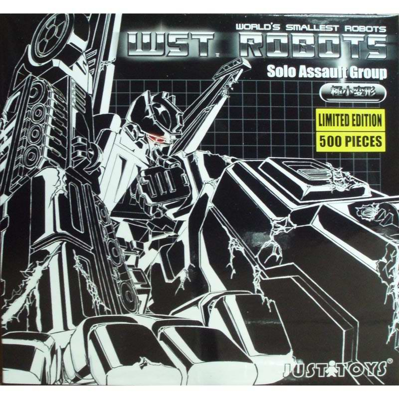 JUSTTOYS Smallest WST  Black SIX SHOT Limited 500
