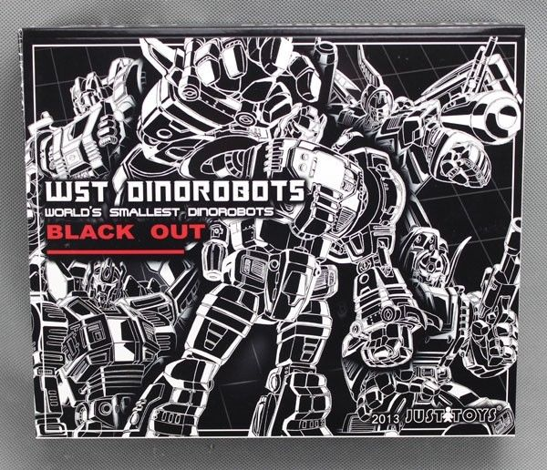 JUSTTOYS WST Dinobots BLACK OUT Figure