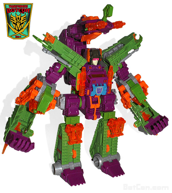 Transformers Collector's Club TFCC 2014 BotCon Scorponok