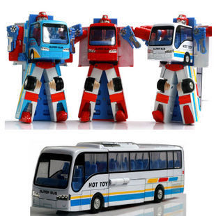 Bus Robot (White)