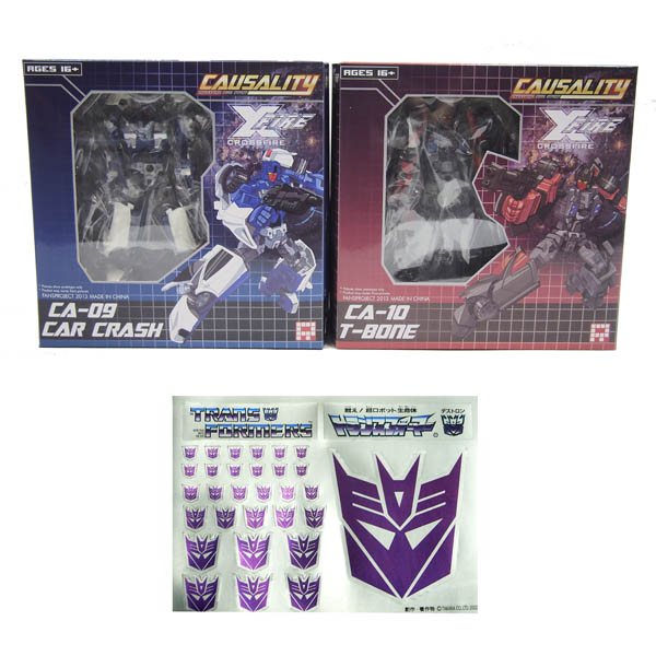 Fansproject Causality CA-09 Car Crash + CA-10 T-Bone