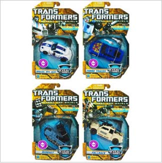 Transformers Deluxe classic 3.0 Jazz  & Turbo Tracks & Fallback