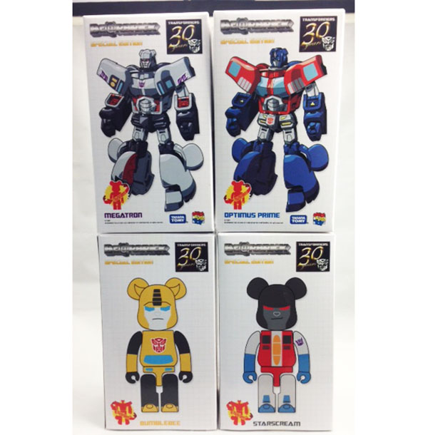 Medicom 2014 Bearbrick x Transformers 200% Full Set