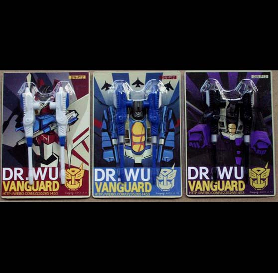 Dr Wu~ DW-P12 Vanguard 3 pack