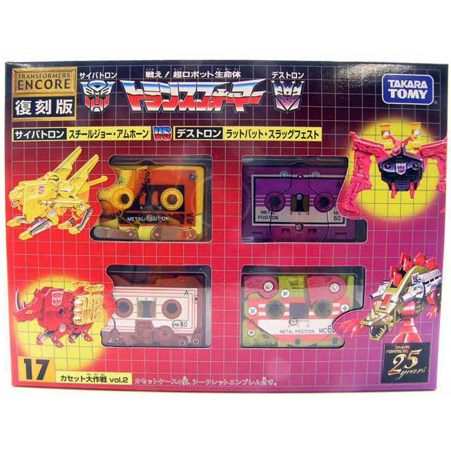Takara Transformers G1 Encore 17 Cassette Vol 2