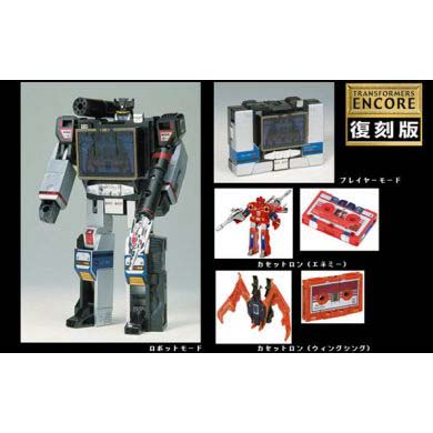Takara Transformers Encore 21 Soundblaster