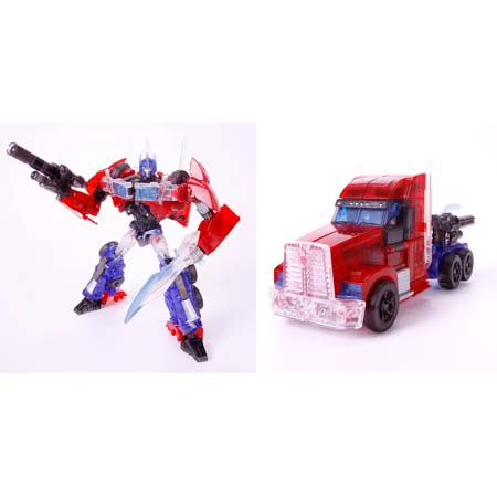 Tokyo Toy Show 2012 Exclusive Transformers Clear Optimus Prime C