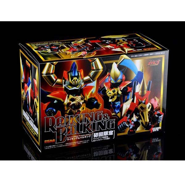 Art Storm ES-10 Gokin Chogokin - RAIKING BALKING Legend of Daiku