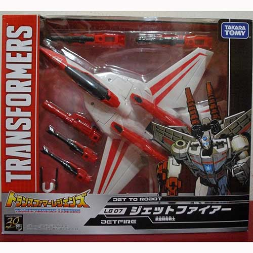 Takara Tomy Transformers Legends LG07 Generations JETFIRE