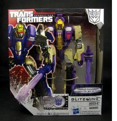 Transformers Generations Blitzwing Voyager