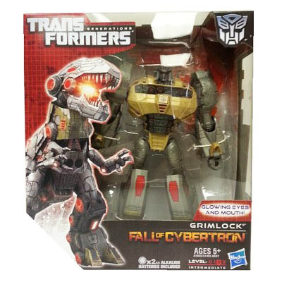 Transformers Fall of Cybertron Voyager Grimlock