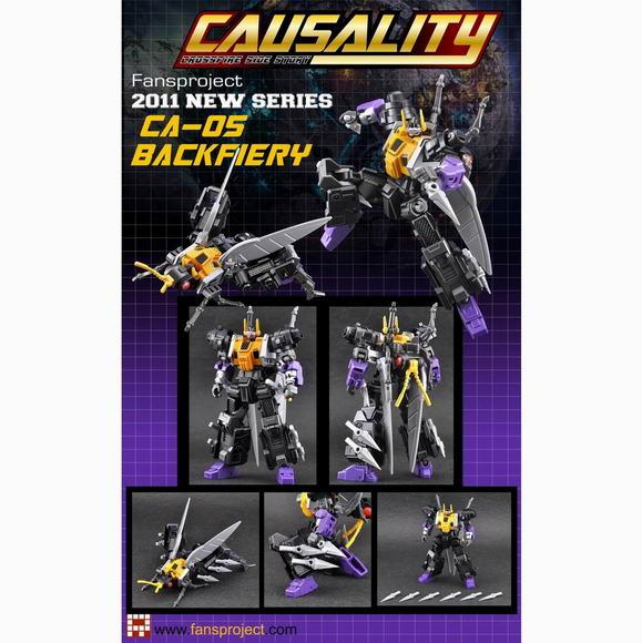Fansproject Causality CA-05 BlackFiery