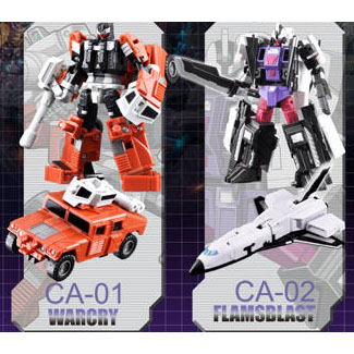 FansProject New Causality CA-01 Warcry & CA-02 Flameblast