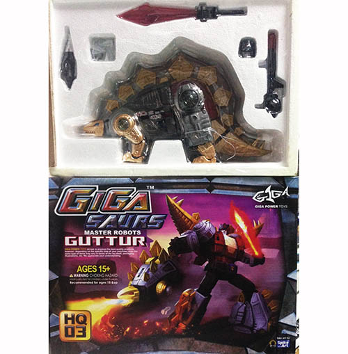 GIGA POWER ~ HQ03 Gutter (Metallic Ver) without box packing