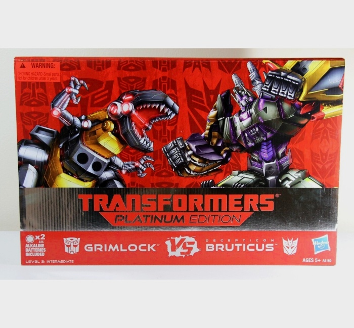 Transformers 30th Anniversary Grimlock vs Bruticus
