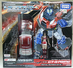 Takara Tomy Transformers GT-01 Optimus Prime (RED)
