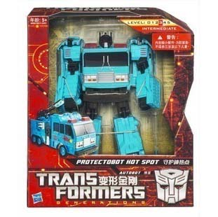 TRANSFORMERS ASIA EXCLUSIVE PROTECTOBOT HOT SPOT