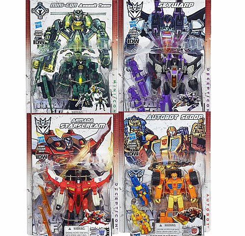 TRANSFORMERS  Generations IDW Comics Deluxe Wave 4