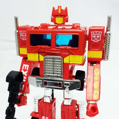 Transformers 2008 Ipod Red Optimus Prime (no trailer)