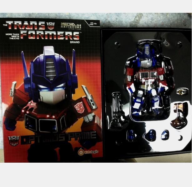 Kids Logic Transformers Optimus Prime