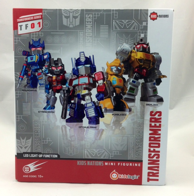 TRANSFORMERS KIDS NATIONS SERIES TF01